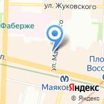 Кофе Джазва на карте Санкт-Петербурга