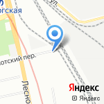 Ленохота на карте Санкт-Петербурга