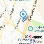 S-Copy на карте Санкт-Петербурга
