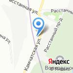 Хонда Лиговский на карте Санкт-Петербурга