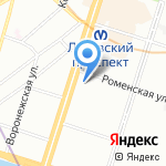 ПОЛИСАН на карте Санкт-Петербурга