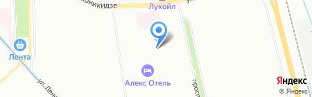 Флорис на карте Санкт-Петербурга