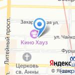Арт-Пиксель на карте Санкт-Петербурга