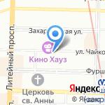 Лакшми на карте Санкт-Петербурга
