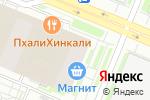Схема проезда до компании Главстрой СПб в Санкт-Петербурге