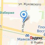Интромэйт на карте Санкт-Петербурга