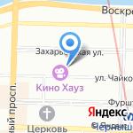 Первый Центр Недвижимости на карте Санкт-Петербурга