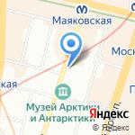 ПрестижСтрой на карте Санкт-Петербурга