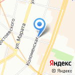 Детский сад №23 на карте Санкт-Петербурга