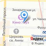 Экзетер интернейшнл на карте Санкт-Петербурга