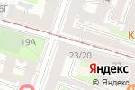 Схема проезда до компании Сити Нэил в Санкт-Петербурге