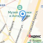 Бюро КБ на карте Санкт-Петербурга