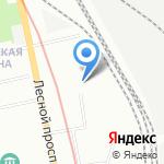 Студия цвета на Лебедева на карте Санкт-Петербурга