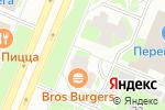 Схема проезда до компании ПАКТ в Санкт-Петербурге