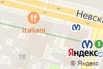 Схема проезда до компании Деловой партнер в Санкт-Петербурге