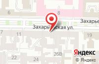 Схема проезда до компании Реаак в Санкт-Петербурге