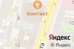 Схема проезда до компании Meteors Travel в Санкт-Петербурге