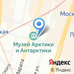 Сигарное место на карте Санкт-Петербурга
