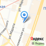 Nico на карте Санкт-Петербурга
