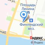 Михайловская военная артиллерийская академия на карте Санкт-Петербурга