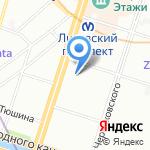 Lite-metod на карте Санкт-Петербурга
