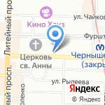 SeNat Inn на карте Санкт-Петербурга