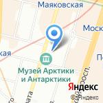 Часовня Единоверческой Никольской церкви на карте Санкт-Петербурга