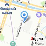 Кайф на карте Санкт-Петербурга