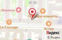 Схема проезда до компании Исп-Технология в Санкт-Петербурге