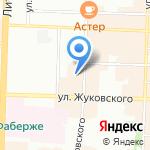 СевЗапСтрой на карте Санкт-Петербурга