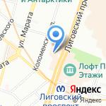 Полидент на карте Санкт-Петербурга