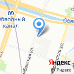 Ваш адвокат на карте Санкт-Петербурга