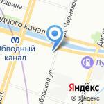 Секонд-хенд на карте Санкт-Петербурга