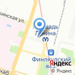 4 Лапы на карте Санкт-Петербурга