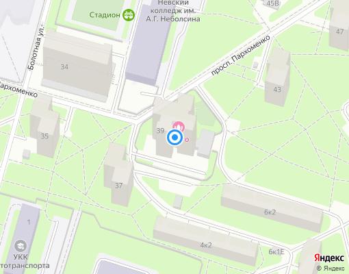 Управляющая компания «Стройремир» на карте Санкт-Петербурга