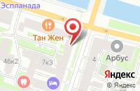 Схема проезда до компании Антик в Санкт-Петербурге