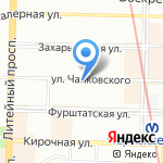 АЛИБАБАЦ на карте Санкт-Петербурга
