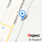 Бетон Строй Плюс на карте Санкт-Петербурга