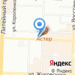 Ник на карте Санкт-Петербурга