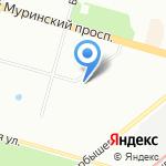 SRV-AUTO на карте Санкт-Петербурга