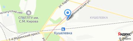 Autopromise на карте Санкт-Петербурга