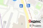 Схема проезда до компании Ситроен Центр в Санкт-Петербурге