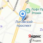 Ювелирторг на карте Санкт-Петербурга