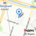 Колобок на карте Санкт-Петербурга