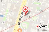 Схема проезда до компании Издательство Днк в Санкт-Петербурге