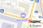 Схема проезда до компании СВ-ЦЕНТР в Санкт-Петербурге