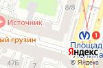 Схема проезда до компании 220 Вольт в Санкт-Петербурге