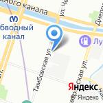 ДОМ на карте Санкт-Петербурга