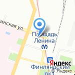 Infracom на карте Санкт-Петербурга