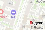 Схема проезда до компании Элим СП в Санкт-Петербурге